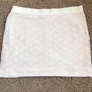 J Crew Lacy Skirt